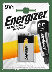 Energizer Bateria Alkaline Power 9V 6LR61