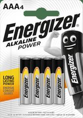 Energizer Alkaline Power AAA / 4 LR03 / 4