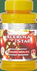 "Starlife ACEROLA STAR, 60 tab. ""vitamín C, rast a regenerácia tkanív"""