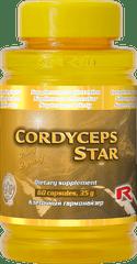 """Starlife CORDYCEPS STAR, 60 tab. """"ledviny, játra, dýchací cesty, imunita"""""""