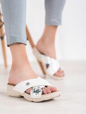 Vinceza Női papucs 64570 + Nőin zokni Sophia 2pack visone, fehér, 37