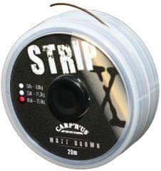 Carp ´R´ Us Carp'R' Us Poťahovaná šnúrka Carp'R'Us - Strip-X 20 m Brown