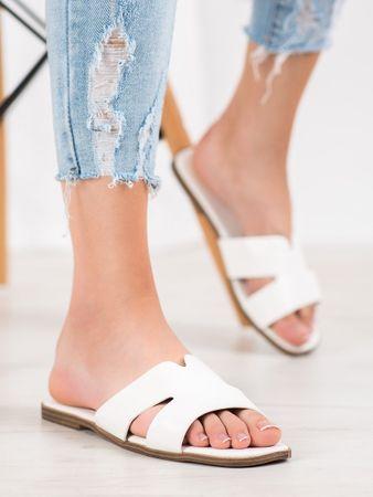 Női papucs 64616 + Nőin zokni Sophia 2pack visone, fehér, 38