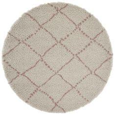 Mint Rugs AKCE: 160x160 (průměr) kruh cm Kusový koberec Allure 102749 Cream/Rose
