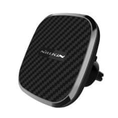 Nillkin Clip-On avtomobilsko držalo brezžični polnilnik Qi II, črna