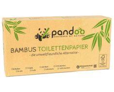 Pandoo Bambusový toaletní papír 3 vrstvý 8 ks