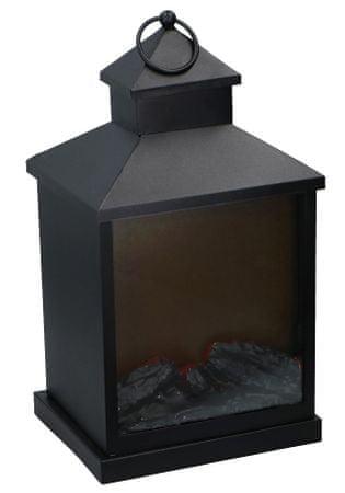 Grundig LED svetilka z imitacijo plamena, 3LED diode, 36x20x16 cm