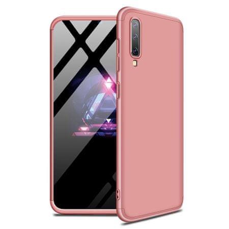 GKK 360 Full Body műanyag tok Samsung Galaxy A50 / A50s / A30s, rózsaszín