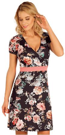 Litex Ženska obleka s kratkimi rokavi 63571 (Velikost S)