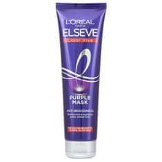 Loreal Paris Vyživujúci maska pre blond a melírované vlasy Elseve Color Vive (Purple Mask) 150 ml