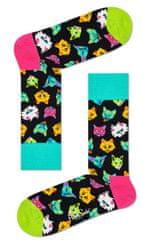 Happy Socks unisex ponožky Funny Cat Sock FCA01-9300