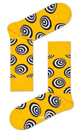 Happy Socks nogavice Crazy Dot Sock CRD01-2200, 36 - 40, rumena