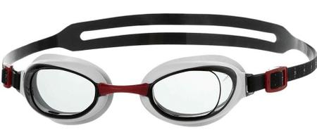 Speedo Aquapure Gog Au naočale za plivanje, Red/Smoke