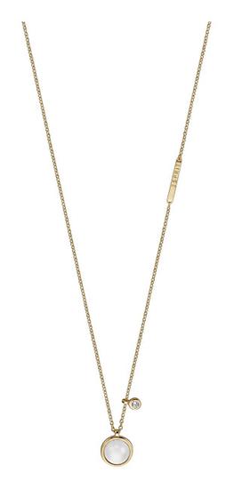 Esprit Štýlový náhrdelník s umelou perlou ESNL00951242 striebro 925/1000