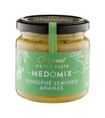 Melicante MEDOMIX Směs medu s konopným semínkem a ananasem 230g