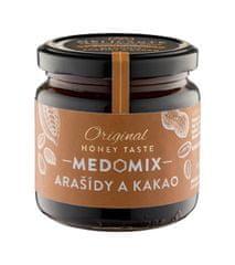 Melicante MEDOMIX Směs medu s arašídy a kakaem 230g