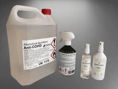 Dezinfekce Anti-COVID set pro obchody 5l, 215ml, 100ml