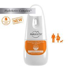 PARA'KITO Suchý olej ve spreji proti komárům a klíšťatům