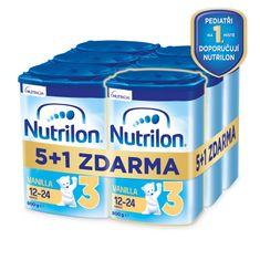 Nutrilon 3 Vanilla batolecí mléko 6x 800 g, 12+