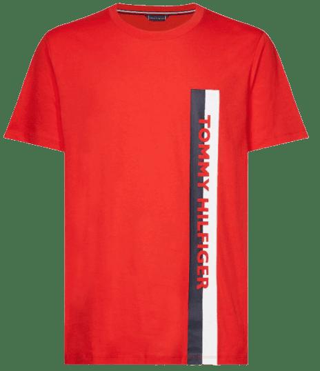 Tommy Hilfiger pánske tričko UM0UM01744 Crew Neck Tee XL červená