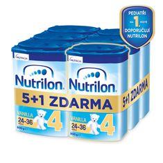 Nutrilon 4 Vanilla - batolecí mléko 6x 800g, 24+