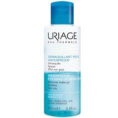 Uriage Dvoufázový voděodolný odličovač (Waterproof Eye-Makeup Remover) 100 ml