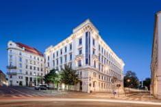 Barceló Hotel Group Romantický pobyt v luxusním hotelu Barceló Brno Palace ***** pro dva, s volným vstupem do sauny a posilovny a Brnopasem.