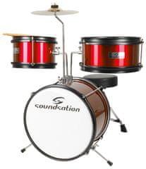 Soundsation JDK313 Red Dětská bicí souprava