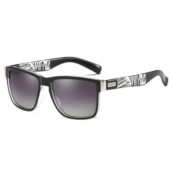 Dubery Chicago 3 slnečné okuliare, Black & Transparent / Gray