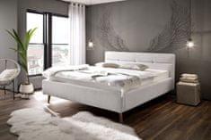 We-Tec Manželská posteľ LOTTE 160x200 a 180x200 cm s úložným priestorom + 2 ks bočne výklopné lamelové rošty