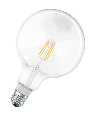LEDVANCE žarnica SMART+ Filament Globe Dimmable 50 5.5 W/2700 K E27, zatemnitvena
