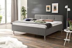 We-Tec Manželská posteľ AMELLIE, 180x200 cm, bez úložného priestoru a roštov, v 2 farbách