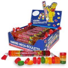 Haribo Megaroulette - želé ruličky 20x45g