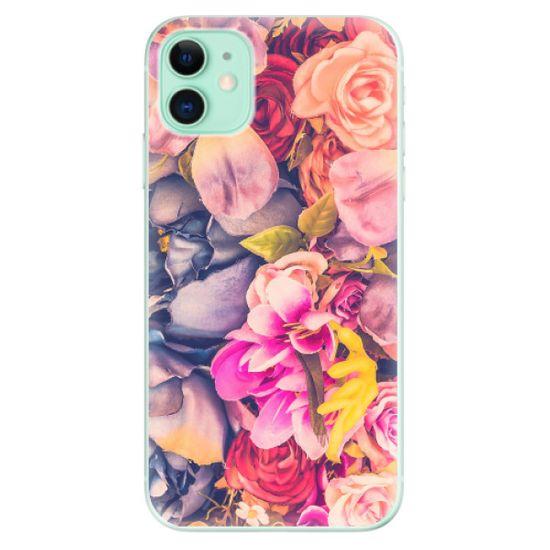 iSaprio Silikónové puzdro - Beauty Flowers pre Apple iPhone 11