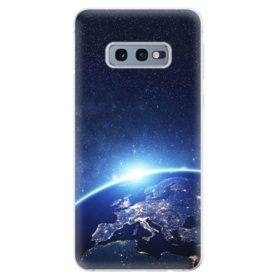 iSaprio Silikonové pouzdro - Earth at Night pro Samsung Galaxy S10e