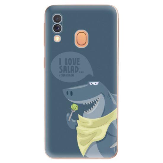 iSaprio Silikónové puzdro - Love Salad pre Samsung Galaxy A40