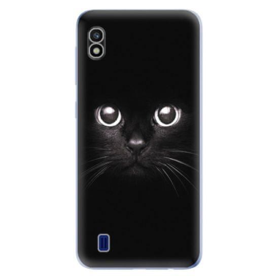 iSaprio Silikónové puzdro - Black Cat pre Samsung Galaxy A10