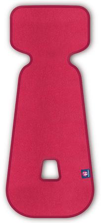 Petite&Mars autósülés betét 3D Aero 9-18 kg, rózsaszín