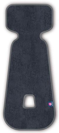 Petite&Mars vložek za avtosedež 3D Aero 9–18 kg, temno siv