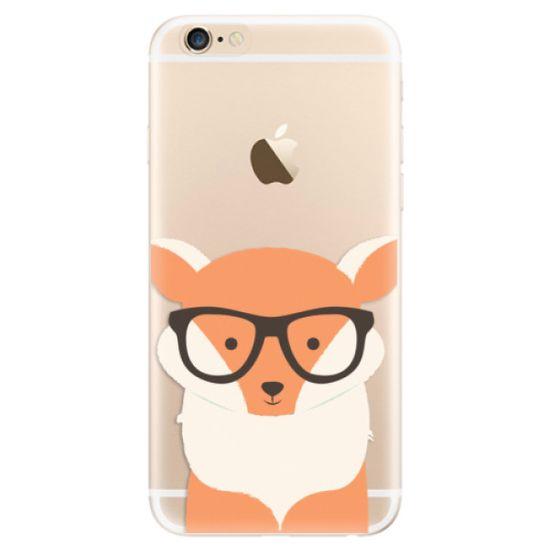 iSaprio Silikónové puzdro - Orange Fox pre Apple iPhone 6