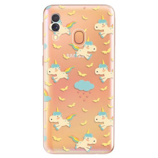iSaprio Silikonové pouzdro - Unicorn pattern 01 pro Samsung Galaxy A40