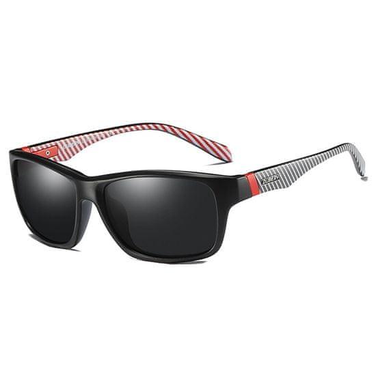 Dubery Revere 6 slnečné okuliare, Black & Grey / Black