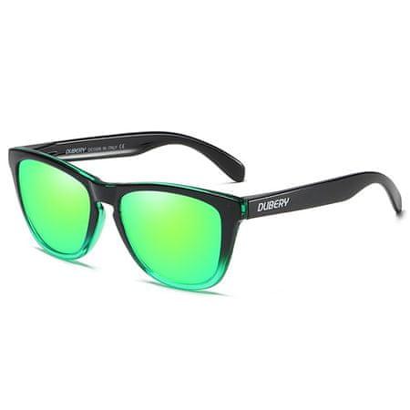 Dubery Mayfield 6 sončna očala, Black & Green / Green