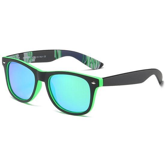 Dubery Genoa 3 slnečné okuliare, Black & Green / Green