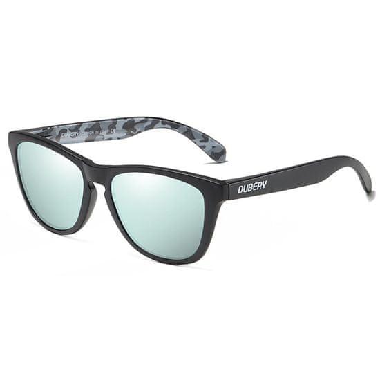 Dubery Mayfield 10 slnečné okuliare, Sand Black / Silver