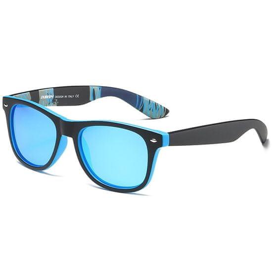 Dubery Genoa 6 slnečné okuliare, Black & Blue / Blue