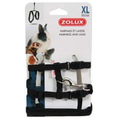 Zolux póráz és hám rágcsáloknak XL fekete