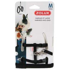 Zolux póráz és hám rágcsáloknak M fekete