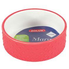 Zolux MARGOT 100ml kerámia tál rágcsálóknak piros
