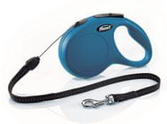 Flexi New Classic S šňůra 8 m, max. 12 kg, modrá